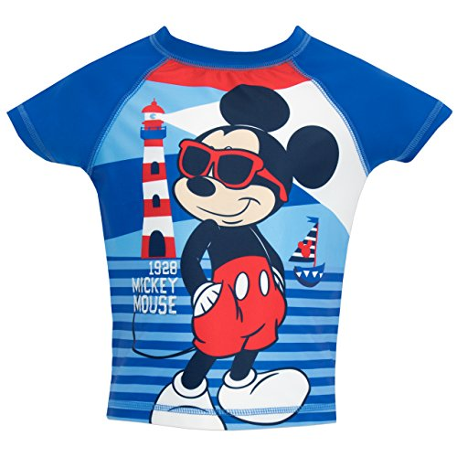 Image of Mickey Mouse Boys Disney Mickey Mouse Two Piece Swim Set Age 5 to 6 Years