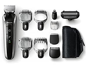 Philips Grooming Kit Serie7000 - QG3380/16 - Rifinitore Barba Capelli & Corpo 10 in 1