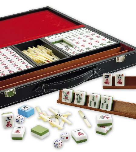 Gibsons G165 - Mahjong en caja de piel sintética