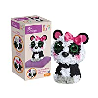 Orb Factory My Design 3D Panda Plush Toy (Multi-Colour)