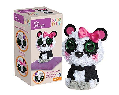 Orb Factory My Design 3D Panda Plüsch-Spielzeug (Mehrfarbig)