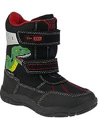 88a838ab97dc7d Indigo Stiefel mit Lustigem Dino Slam-Tex gefüttert in 2 Farben Gr.21-