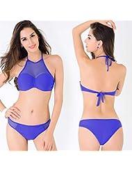 AMYMGLL Maillot de bain féminin maillot de bain bikini adulte protection de l'environnement élasticité grande plage natation sports Europe et les États-Unis deux ensembles de maillots de bain