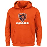 NFL Hoodie/Hoody/Hooded Sweater CHICAGO BEARS Victory VIII orange in S (SMALL)
