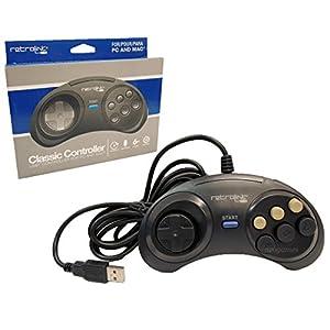 retro-bit-pc-7017USB-Controller mit 6Tasten