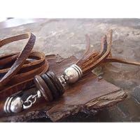 COCO, borla y Festival de cuero collar - collar