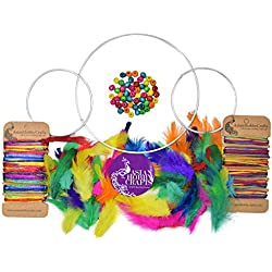Asian Hobby Crafts DIY Dream Catcher Kit (Small)