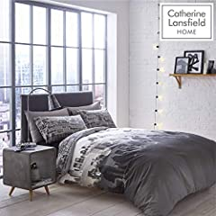 Idea Regalo - Catherine Lansfield, Set Biancheria da letto, Matrimoniale, 200 x 200 cm