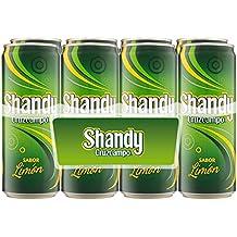 Shandy Cruzcampo Limon Cerveza - Pack de 8 Latas x 330 ml - Total: 2.64