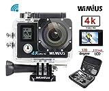 WiMiUS Q4 Actioncam 4k Action kamera mit Dual Bildschirm 16MP