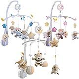 Musical Mobile for Baby Cot (0+) BUBU / PETRILLA / PETI (PINK = PETRILLA)
