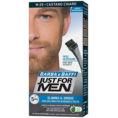Just For Men Barba & Baffi, M25 -Castano Chiaro