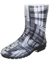 Damen Schuhe, GST-F200P, REGENSTIEFEL GUMMISTIEFEL