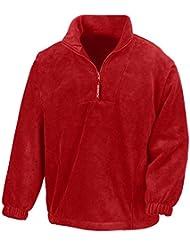 Result - 1/4 Zip Fleece Pullover