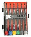 Lindy 43011 Kit de tournevis de précision