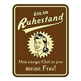Schild: Chef Frau