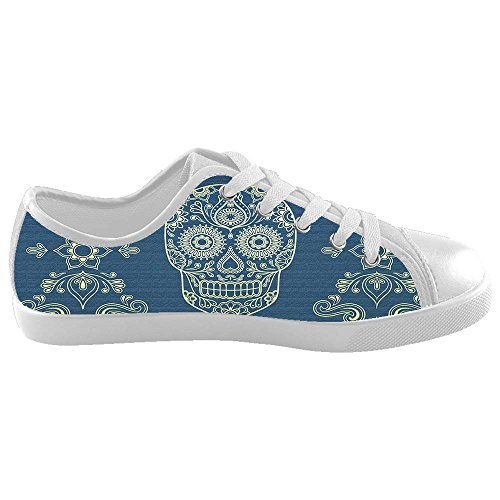 Dalliy Flower Sugar skull Kids Canvas shoes Schuhe Footwear Sneakers shoes Schuhe B