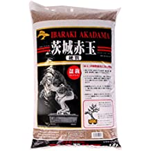 Tierra Akadama para bonsais, 1a 5mm, dureza Ibaraki, 2 litros