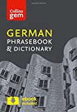 Collins German Phrasebook and Dictionary Gem Edition: Essential phrases and words in a mini, travel sized format (Collins Gem)