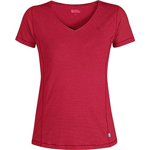 Fjällräven Abisko Cool W pour femme T-shirt corail