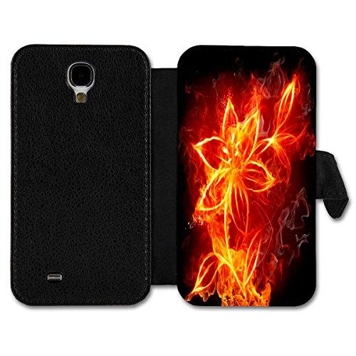 Book Style Flip Handy Tasche Case Schutz Hülle Schale Motiv Etui für Apple iPhone 4 / 4S - A11 Design28 Design 15