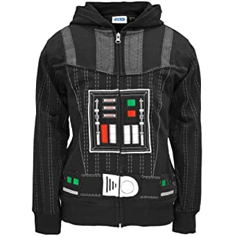 Old Glory Star Wars - Vader Youth Costume Zip Hoodie - Youth Small