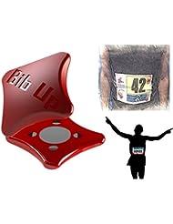 BIBUP 3.0 -- sistema magnético para la fijación del número de carrera (ROJO)