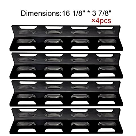 The Red BBQ (4-pack) Replacement Stainless Steel Heat Plate/shield for