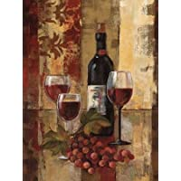 Graffiti e Wine II by Vassileva, Silvia – stampa fine art disponibile su tela e carta, Tela, SMALL (18 x 24 Inches )