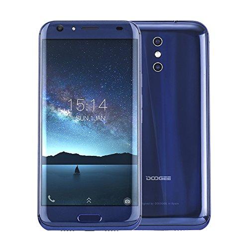 Preisvergleich Produktbild Doogee BL5000 4G FDD-LTE Smartphone 5050mAh Akku 5, 5 Zoll Android 7.0 Octa-Core 4G RAM + 64G ROM 13MP + 13MP Dual-Hauptkameras Fingerabdruckscanner,  12V / 2A Fast Charge,  B20 Dual SIM Ohen Vertrag