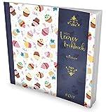 """GOCKLER® Leeres Kochbuch: Ein Rezeptbuch zum Selbstgestalten / Selberschreiben • Für 100 Lieblingsrezepte, mit Register uvm. • DesignArt """"Cupcakes"""" • Softcover, ca. 21 x 21 cm"""