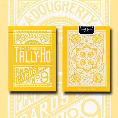 tally-ho-reverse-fan-back-yellow-limited-ed-by-aloy-studios-uspcc