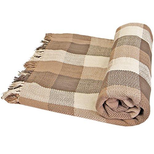 Just Contempo - Manta para Sofa algodón