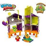 SuperZings - Laboratorio Secreto Playset Adventure 1, color verde