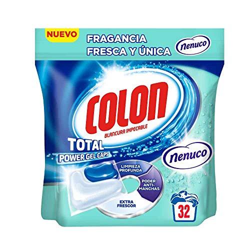 32 cápsulas de detergente Colon Blancura impecable con fragancia Nenuco por sólo 7,79€ ¡¡26% de descuento!!
