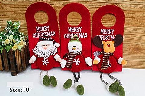 XJoel Snowman Santa Reindeer Sweater Parti décorations pour sapins de