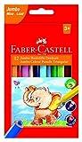 Faber-Castell 116501triangolare Jumbo matita colorata (confezione da 12)