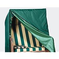 Fun Star Premium - Funda de poliéster para banco con toldo, color verde