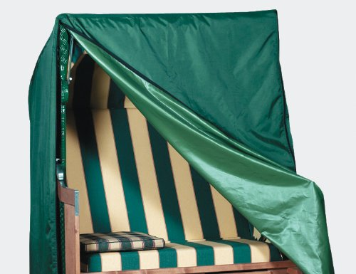 Fun Star Strandkorbhülle-UM661560, grün, 340x200x95 cm, 669279