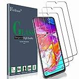 Ferilinso Verre Trempé pour Samsung Galaxy A70S / A70 Verre Trempé,[3 Pièces] Protection écran Vitre Tempered avec Garantie de Remplacement à Durée de Vie