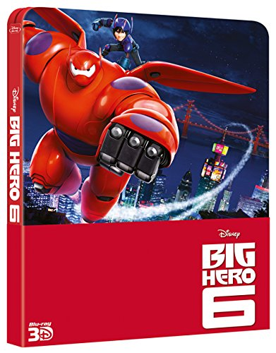 Big hero 6 (2D+3D steelbook) [IT Import] [3D Blu-ray]