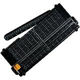 Fiskars 5454 SureCut Massicot Recyclé A4 30 cm + Lame Titane Noir