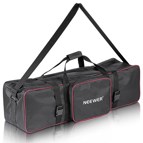 Neewer 100x25x25cm Foto Vídeo Estudio Kit Bolsa Transporte