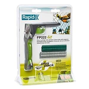 Rapid Pince de clôture FP222 &VR22 Kit complet avec anneaux Anneaux VR22 x 200