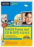 MAGIX Fotos auf CD & DVD 4.0/4.5: auch für Version deLuxe und MAGIX Digital Foto Maker (Digital fotografieren)