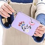Relddd Moda portafoglio fatto di Pu pelle donna breve pieghevole studente portafoglio vacanza perfetta