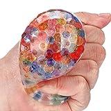 C 'est schwammartige Rainbow Ball Spielzeug Transparent Funny Flexibler Relief Stress Dekompression Spielzeug Ball für Fun Kids & Erwachsene Geschenk