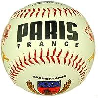 Souvenirs de France - Balle de Baseball Paris Tour Eiffel - Blanc