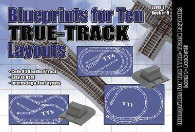 HO Blueprints 10 True Layouts by Atlas Model Railroad (Layout Railroad Model)