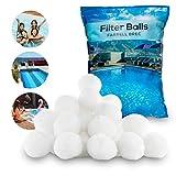 Farrell Brec 700g Filterbälle - Extra langlebige Filter Balls für glasklares Wasser im Pool - Umweltfreundlicher Ersatz für Quarzsand und Filterglas